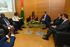 Bilateral Meeting Burkina Faso (01117963)