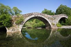 Mylos bridge near Kipi, Zagori, Greece (Miche & Jon Rousell) Tags: greece zagori mountains pindos pindosmountains timfi vikos vikosgorge gorge vitsa koukouli elafotopos bridge mylosbridge kipi