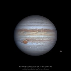 Jupiter 2019-07-07-02:11 UTC (@davidduarte_ac) Tags: jupiter solarsystem atmosphere astrophoto astrophotography astrofotografia astronomia astronomy universe universo features asi1600 lx90 zwo meade televue powermate moons ganymede