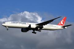 TC-LJC Boeing 777-3F2(ER) THY Turkish Airlines @ Schiphol 13-Sep-2019 by Johan Hetebrij (Balloony Dutchman) Tags: tcljc boeing 7773f2er thy turkish airlines 777 777f b777