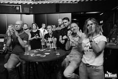 2019 Bosuil-Het publiek bij Crackermen en Pearl Jamming 10-ZW
