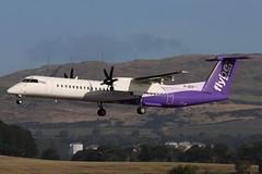 G-JECP Glasgow 17-9-2019 (Plane Buddy) Tags: gjecp dhc8 400 flybe glasgow egpf