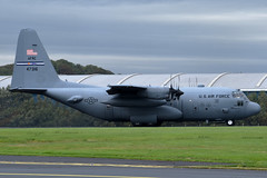 94-7316 Unites States Air Force Air Force Reserve Command Lockheed C-130H Hercules at Glasgow Prestwick Airport on 14 September 2019 (Zone 49 Photography) Tags: aircraft airliner aeroplane september 2019 glasgow prestwick scotland egpk pik united states air force usaf reserve command lockheed c130 c130h hercules 947316