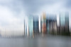 Macau Skyline Abstract