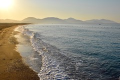 Morning stroll (Nige H (Thanks for 28m views)) Tags: nature landscape seascape beach mountains waves sea sarigerme turkey holiday vacation stroll morning morningstroll