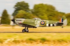 Spitfire (Sébastien Locatelli) Tags: sébastienlocatelli 2019 airshow canon eos 80d ef 70300mm f456 l is usm meeting aérien melun villaroche air legends warbird supermarine vickers spitfire rollsroyce merlin royalairforce royal force raf ww2