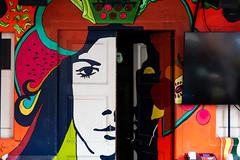 Open your Mind (amirdakkak1) Tags: art grafitti graffiti door doors artphoto photography singapore city street streets streetphotography building painting
