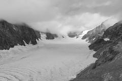 Glacier Blanc (Inklaar) Tags: autostitch écrins inklaar:see=all fujifilmx100f wolken gletsjer bergen zwartwit panorama 2019 alpen lightroom alpi alps bw massifdesecrins pelvouxmassief x100f blackandwhite clouds ferner ghiacciaio glacier gletscher écrinsmassief pelvoux provencealpescôtedazur frankrijk