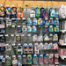 Mens and Womens Disposable Razor Cartridges and Handles on Grocery Store Shelves Pegboards
