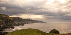 St Abbs Head (Carol Marshy Photography) Tags: scotland clouds warm hills stormy cloudy cool summer night noaurora