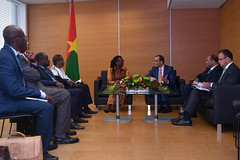 Bilateral Meeting Burkina Faso (01117967)