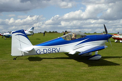 G-DSRV Van's RV-7 cn PFA 323-14381 Sywell 01Sep19 (kerrydavidtaylor) Tags: rv7 orm egbk sywellaerodrome northamptonshire