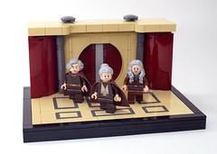 The Old Masters (N-11 Ordo) Tags: starwars lego legomania legomoc legobuild legostarwars legobuilder ordobuilds n11ordo old jedi masters jeditemple oldmasters legovignette vignette floor snot