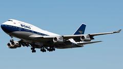 BOAC (British Airways) Boeing 747-436 G-BYGC (StephenG88) Tags: londonheathrowairport heathrow lhr egll 27r 27l 9r 9l boeing airbus august25th2019 25819 myrtleavenue renaissanceheathrow 747 744 747400 747436 gbygc britishairways ba baw speedbird boac retrojet retro