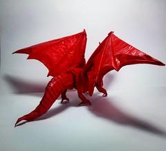 Ancient Dragon V2 Another (GGIamBatman) Tags: origami papiroflexia ancient dragon another v2 kamiya satoshi