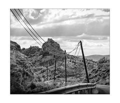 the wild mountain roads of No-Man's-Land (Armin Fuchs) Tags: arminfuchs nomansland mountains 6x7 road cables street anonymousvisitor thomaslistl wolfiwolf jazzinbaggies