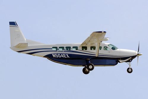 Textron Aviation Inc N504ex Cessna 208b Grand Caravan Ex Bcn Lebl A Photo On Flickriver