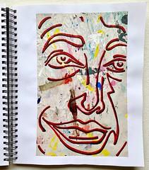 Christian Montone - Sketchbook (2019) (Christian Montone) Tags: sketchbook drawing painting art artist mixedmedia paint ink faces portrait montone christianmontone women