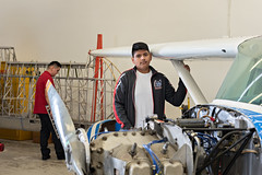 Skyline High School - Aviation Program (dallas_isd) Tags: aviation skyline high dietz airplane