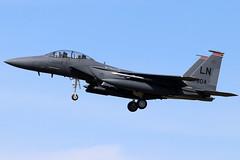 91-0604 (GH@BHD) Tags: 910604 mcdonnelldouglas f15 f15e eagle strikeeagle unitedstatesairforce raflakenheath usaf usafe fighter strikeaircraft military aircraft aviation lakenheath