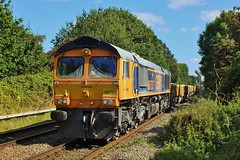 66757 Water Orton (anson52) Tags: 66 667 gbrf