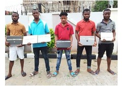 EFCC nabs gang for impersonating the commission, ICPC (solochelglobalserviceslimited) Tags: commission efcc icpc