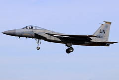 86-0160_01 (GH@BHD) Tags: 860160 mcdonnelldouglas f15 f15c eagle usaf usafe unitedstatesairforce raflakenheath fighter strikeaircraft military aircraft aviation