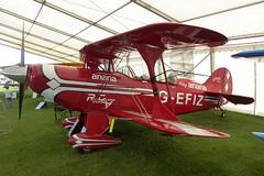 Photo of G-EFIZ Aviat Pitts S-2B Special cn 5224 Syywell 01Sep19
