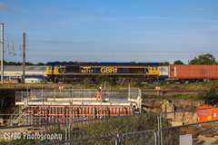 Men At Work (CS:BG Photography) Tags: class66 goodoldboy shed 66717 gbrf gbrailfreight containertrain ecml eastcoastmainline peterborough werringtonjunction