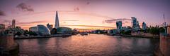 Thames Panorama, London, UK (KSAG Photography) Tags: panorama skyline city urban sunset september nikon capital skyscraper landscape river thames england europe britain unitedkingdom uk london autumn hdr
