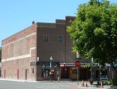 Main Street Alturas, CA (totalescape.com) Tags: mainstreet building redbrick historic modoc alturas theater us395 california ca