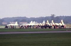 F-5E Tiger IIs (Pentakrom) Tags: alconbury 1980 northrop f5e tiger ii usaf aggressor