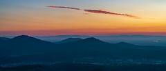 Twilight (Markus Semmler) Tags: vosges colorful sunset feldberg merkur twilight sundown colors sunlight mountains ottenau gaggenau mountain