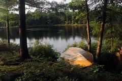 a secret place on a secret lake (scienceduck) Tags: scienceduck 2019 september cottage muldrew muldrewlake lakemuldrew gravenhurst muskoka water boat