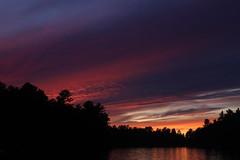 Muldrew sunset (scienceduck) Tags: scienceduck 2019 september cottage muldrew muldrewlake lakemuldrew gravenhurst muskoka water sunset