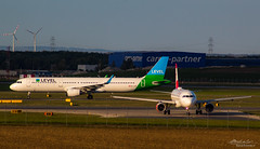 Level & Austrian_ (Bartal_Photography) Tags: planes airplanes wien airport aircraft aviation airline airlines aeroplane photography transport transportation plane dslr airliners airliner spotter avgeek spotting airplane wienphotography