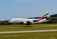 Emirates A380 _2 (Bartal_Photography) Tags: planes airplanes wien airport a380 emirates