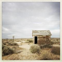 When everything was broken (Maureen Bond) Tags: house home desert abandoned lost clouds alone broken ca mojavedesert roadtrip quiet longnights hills