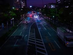night road (kasa51) Tags: night light road yokohama japan