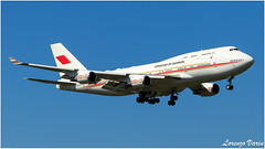 (Sir George R. F. Edwards) Tags: avgeek plane planelover planespotter planespotting aviation aviationspotter aviationspotting airport canon 7dmarkii bahrain royal flight boeing 747 744