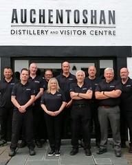 Photo of The Auchentoshan production team.