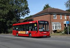 DE1806 YX10BFO Ruislip 15.9.19 - now operated by Metroline (Rays Bus Photographs) Tags: metroline de1806 yx10bfo h13 routeh13