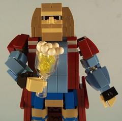 Fat Thor 3 (M<0><0>DSWIM) Tags: lego avengers fat thor