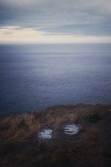 Helping people think again. (Darren Speak) Tags: saltburnbythesea samaritan cliffs