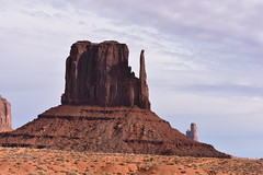 WEST MITTEN (SneakinDeacon) Tags: westmitten monumentvalley landscape scenicdrive bucketlist navajonation redrocks