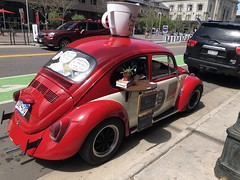 A Denver coffee shop disguised as a Volkswagen (Hazboy) Tags: hazboy hazboy1 kaffee coffee denver colorado 2019 may