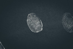 260/365 - Fingerprint (Forty-9) Tags: canon eos60d eflens ef2470mmf28liiusm lightroom tomoskay forty9 studio project365 365 2019 3652019 project3652019 day260 260365 september 17thseptember2019 17092019 photoaday tuesday fingerprint blackandwhite bw print