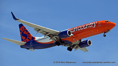 Sun Country B-737-800 New Colors (ConcordeNick ArtPhoto) Tags: aircraft aviation airplane airliner aviationphotography boeing b737800 b737 suncountry transport transportation travel flight flying concordenickartphoto concordenickartphotozenfoliocom olympus e5