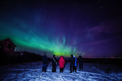 Aurora Viewing party, NYE 2018 (Christy Turner Photography) Tags: aurora auroraborealis aurorachaser northernlights spaceweather christyturnerphotography