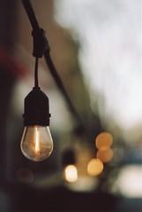 Bulbs & Bokeh (Dekhana Photo) Tags: bulbs bokeh montreal quebec canada argentique analog analogue film andregenel dekhanaphoto minolta x700 fuji superia400 square stlouis carre pellicule